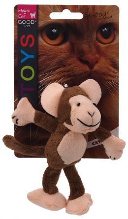 Rotaļlieta kaķiem - Magic Cat Toy animal jungle, mix, 12.5cm
