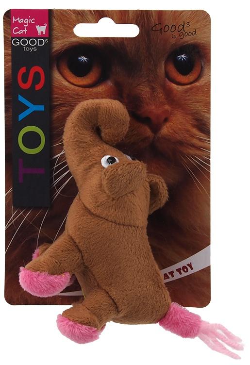 Игрушка для кошек - Magic Cat Toy animal jungle, mix, 12.5см