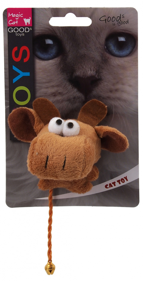 Игрушка для кошек - Magic Cat Toy plush animal mix, 11см