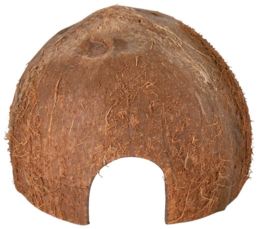 Aksesuārs grauzējiem - Trixie Coconut Hideaway Home, 8/10/12 cm
