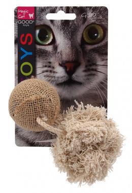 Игрушка для кошек - Magic Cat Toy ball with catnip, mix, 10см