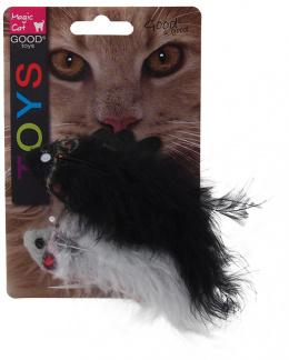 Игрушка для кошек - Magic Cat Toy fish with pattern, crinkle and catnip, 2шт, mix 11см