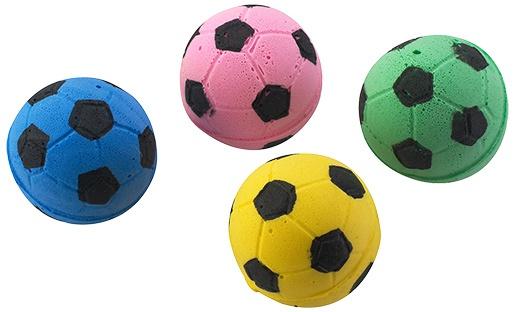 Rotaļlieta kaķiem - Magic Cat Toy foam football 4gb, 3.75cm