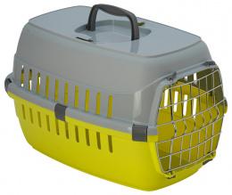 Transportēšanas bokss dzīvniekiem – Dog Fantasy Carrier, Yellow, 48 x 32,5 x 29 cm