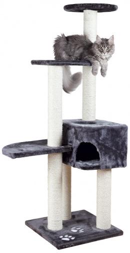 """Mājiņa kaķiem - """"Alicante"""" 142cm (antracīts)"""
