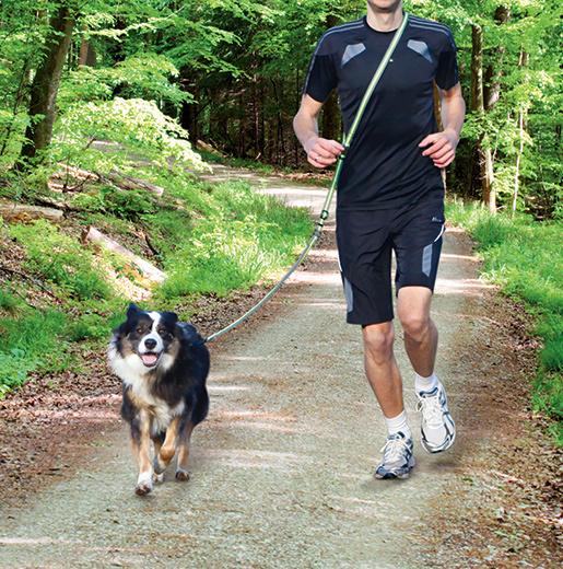 Pavada skriešanai - Trixie Dog Activity, 1.33 - 1.80 metri