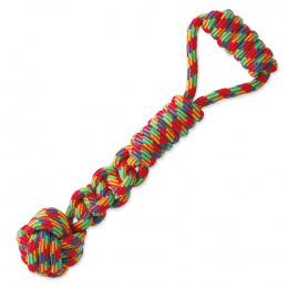 Игрушка для собак – DogFantasy Good's Cotton ball with handle, 37 см