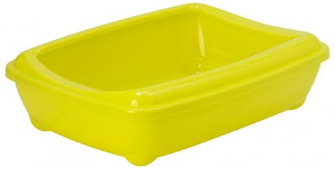 Туалет для кошек - Magic Cat Economy, желтый, 50*38*14 cm