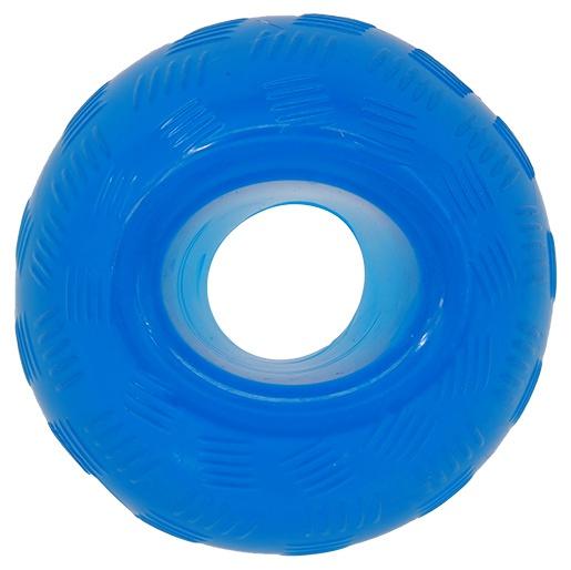 Игрушка для собак - DogFantasy Good's Rubber Strong toy ball, 8.9см, цвет - синий