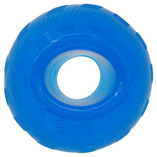 Rotaļlieta suņiem - DogFantasy Good's Rubber Strong toy ball, 9.5cm, krāsa -zila