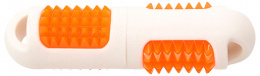Игрушка для собак - DogFantasy TPR LED Aport, белая, 19cм