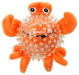 Rotaļlieta suņiem - Dog Fantasy Good's Toys Sea Crab in Ball, 9 cm