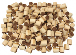 Лакомство для собак -  Rasco Biscuit Rollos Marrow, 3cм, 1 кг