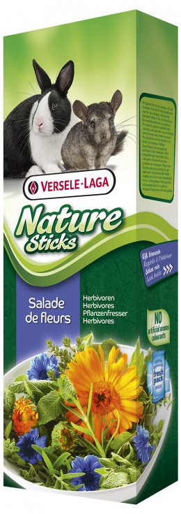Gardums grauzējiem - Nature Sticks Flower Salad 80g