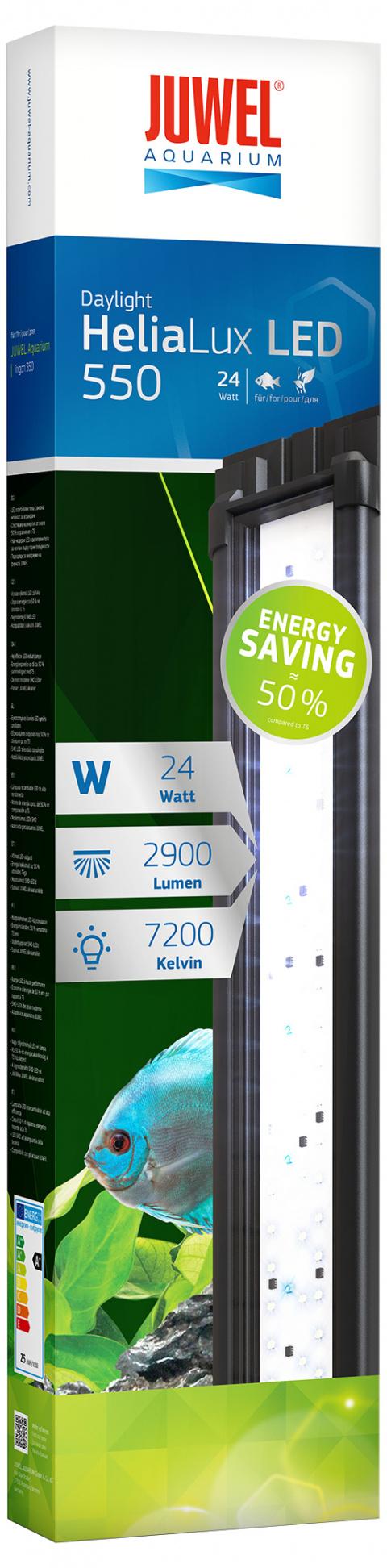 Dienas gaisma akvārijam - Juwel Helia Lux LED 550, 24 W