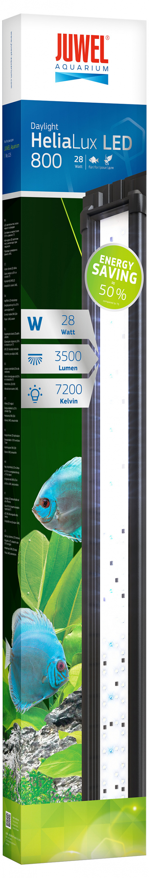 Dienas gaisma akvārijam - Juwel Helia Lux LED 800, 28 W