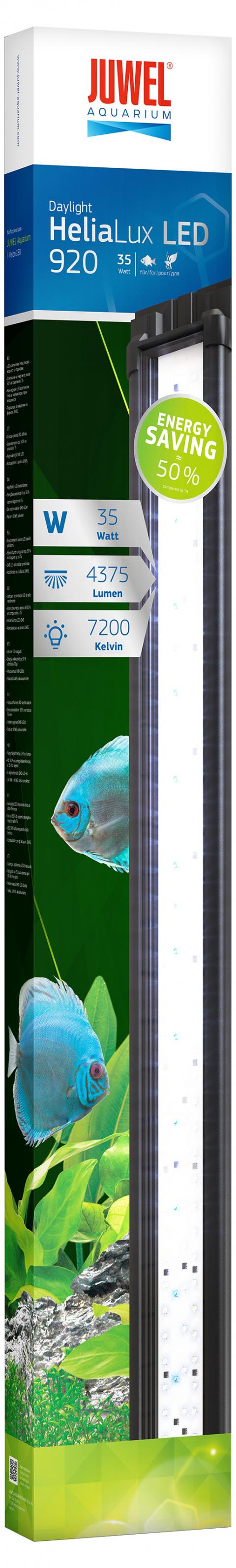 Dienas gaisma akvārijam - Juwel Helia Lux LED 920, 35 W