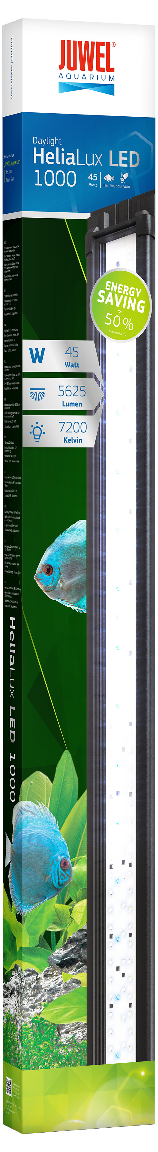 Dienas gaisma akvārijam - Juwel Helia Lux LED 1000, 45 W