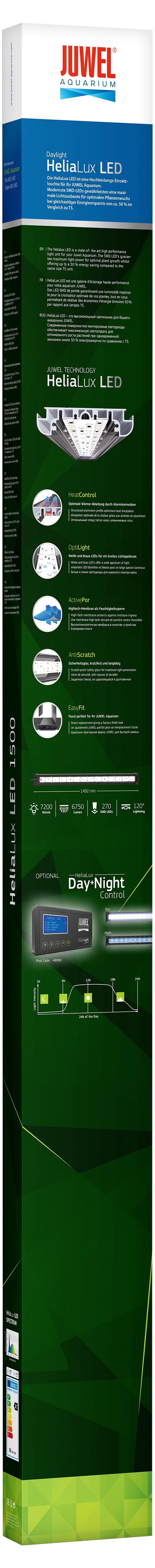 Dienas gaisma akvārijam - Juwel Helia Lux LED 1500, 54 W