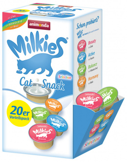 Gardums kaķiem - Milkies Selection (Mix), 15 g