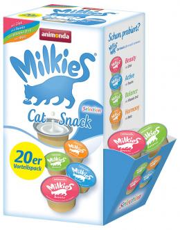Лакомство для кошек - Milkies Selection (Mix), 15 г