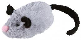 Rotaļlieta kaķiem - Trixie Active-Mouse, plīša, 8 cm