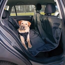 Automašīnas sēdekļu pārklājs - TRIXIE Car Seat Cover, Black, 1,45 x 1,60 m