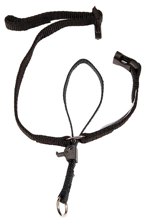 Korekcijas kakla siksna suņiem - Gentle leader for small dog, melna