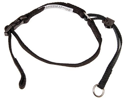 Коррекционный ошейник для собак - Beaphar Gentle leader for medium dog, черный