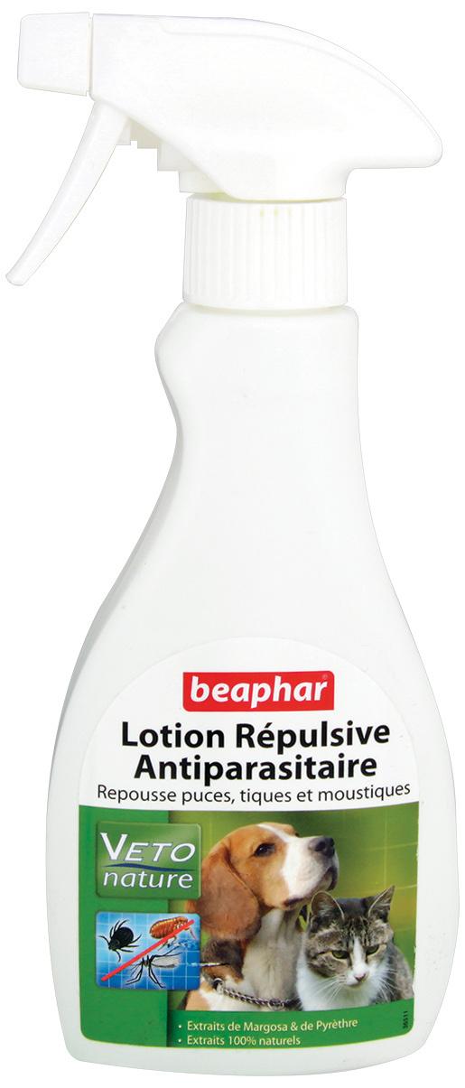 Средство против блох, клещей, комаров - Beaphar Veto Pure, bio аэрозоль от паразитов, 250 мл
