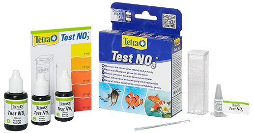 Тест на нитраты для аквариумной воды - Tetra NO3 test, 10 мл