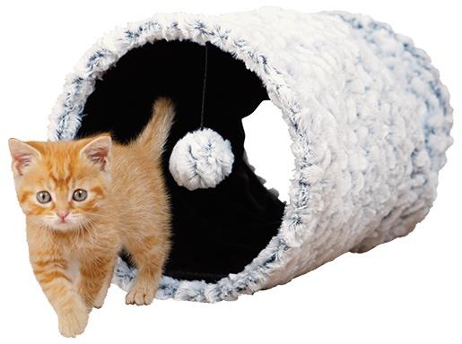 Rotaļlieta kaķiem - TRIXIE Playing Tunnel, 25*50 cm