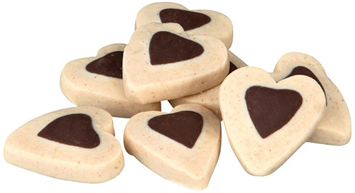 Gardums suņiem - Soft Snack Happy Hearts, 500g