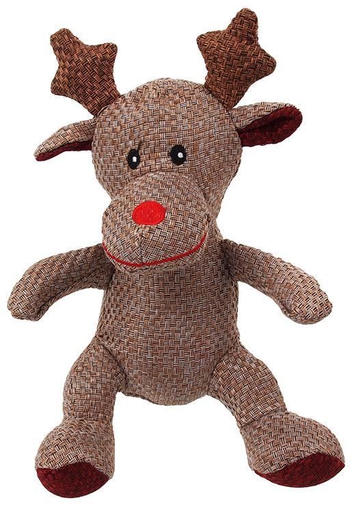 Игрушка для собак - Trixie Xmas, Санта, Олень и снеговик