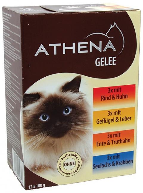 Konservi kaķiem - Athena Jelly, 100 g title=