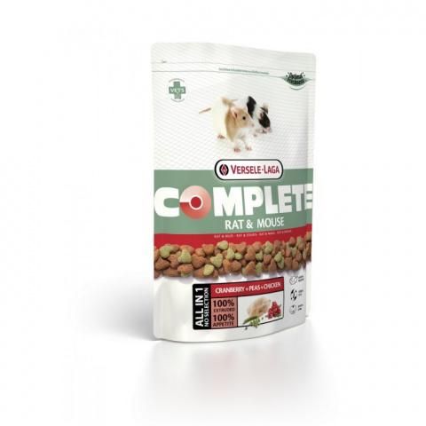 Barība žurkām un pelēm - VERSELE-LAGA Complete Rat & Mouse, 500 g