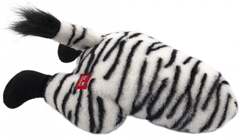 Игрушка для собак - Dog Fantasy Silly Bums Zebra, 41 cм