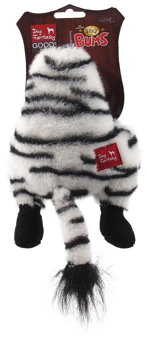 Rotaļlieta suņiem - Dog Fantasy Silly Bums Zebra, 28 cm