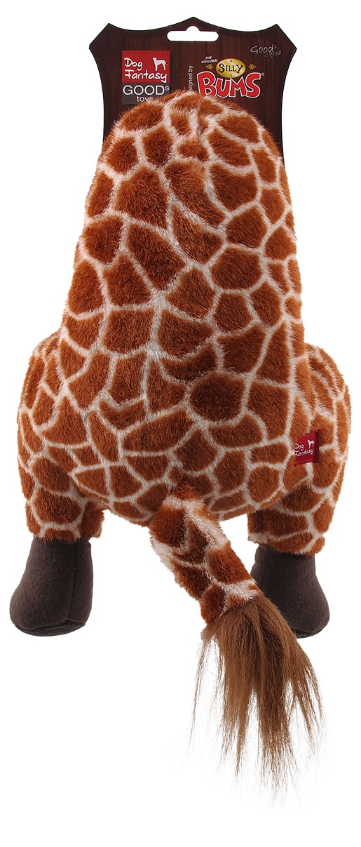 Игрушка для собак - Dog Fantasy Silly Bums Girafe, 41см
