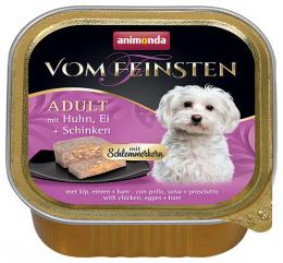 Konservi suņiem - VomFeinsten Gourmet Chicken, Eggs, Ham, 150 g