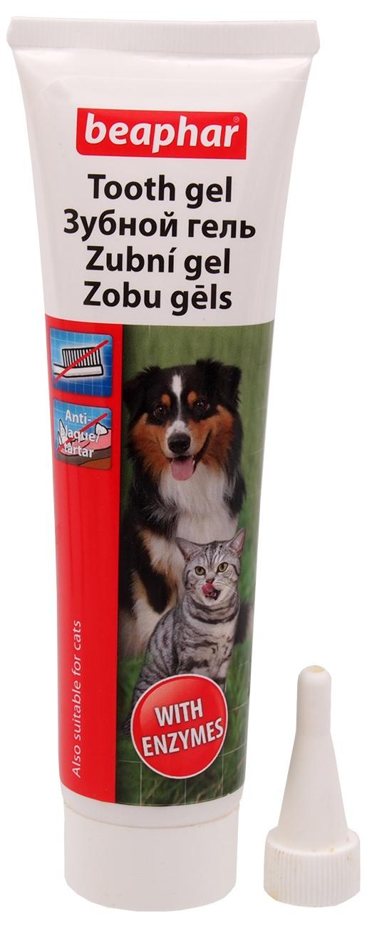 Zobu gēls - Beaphar Dog A Dent Gel, 100 g