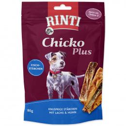 Gardums suņiem - Rinti Extra Chicko Plus Salmon & Chicken 80 g
