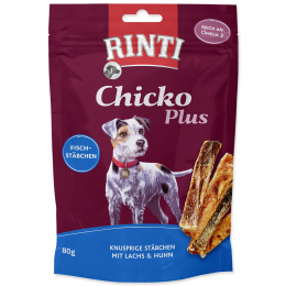 Лакомство для собак - Rinti Extra Chicko Plus Salmon & Chicken, 80 г