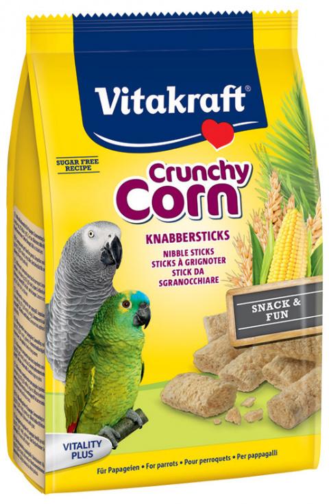 Papildbarība putniem - Vitakraft Crunchy Corn, 50 gr