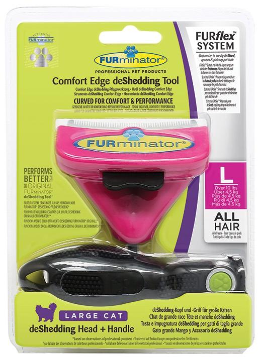 Ķemme kaķiem - FURminator FUR flex, L