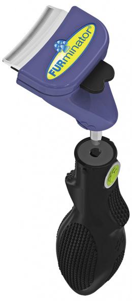 Расческа для собак - FURminator FUR flex, S