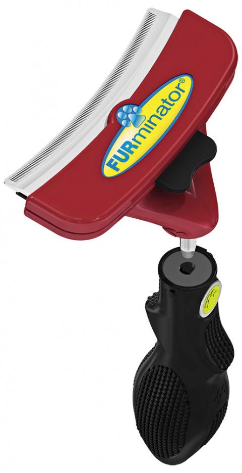 Расческа для собак - FURminator FUR flex, L title=