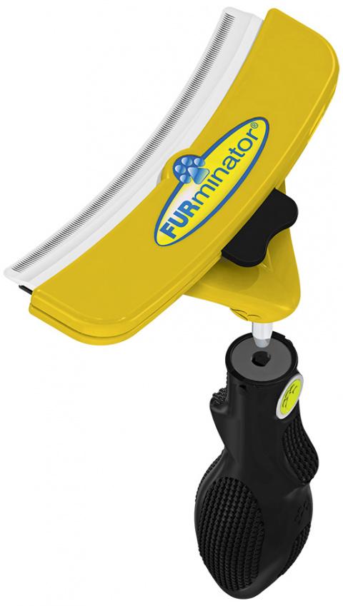 Расческа для собак - FURminator FUR flex, XL title=