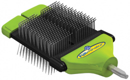 Ķemme suņiem - FURminator FUR flex dual slicker brush