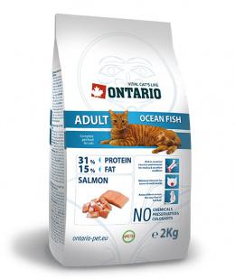Barība kaķiem - Ontario Adult Ocean Fish 2kg